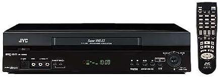 JVC HR-S7711 S-VHS-Videorekorder schwarz