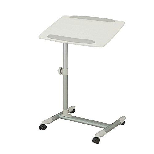 SoBuy FBT07N2-W Beistelltisch Pflegetisch Betttisch Laptoptisch Tisch weiß