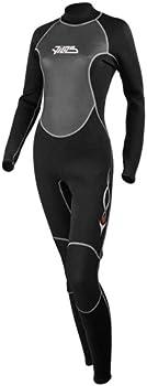 Tilos 3/2mm Womens Steamer Jumpsuit Scuba Diving Wetsuit