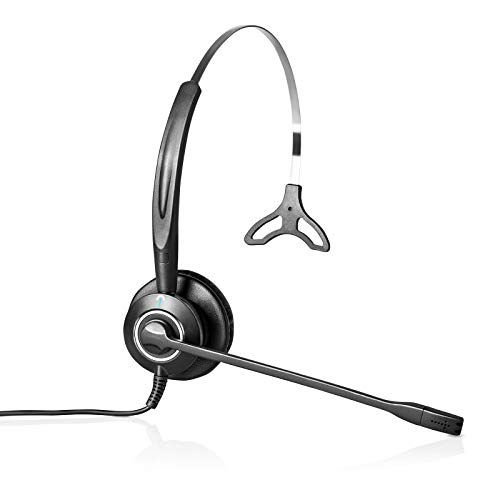 H900 Single-Ear USB Computer Headset - Ótimo para trabalhar em casa. Funciona com Zoom, Jabber, Webex, equipes, Slack, Skype, RingCentral, 8x8, e todos os outros Softphone Brands