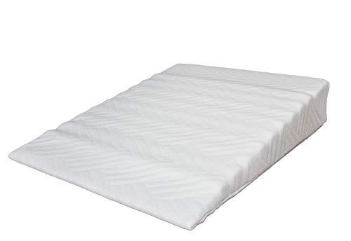 Vivabimbo Kissen für Babybett, gegen Rückfluss, für Kinderbett, Plagiozephalie, Schlafsack, Babywagen, Kinderwagen – Antidekubitus, aus Schaumstoff, zertifiziert