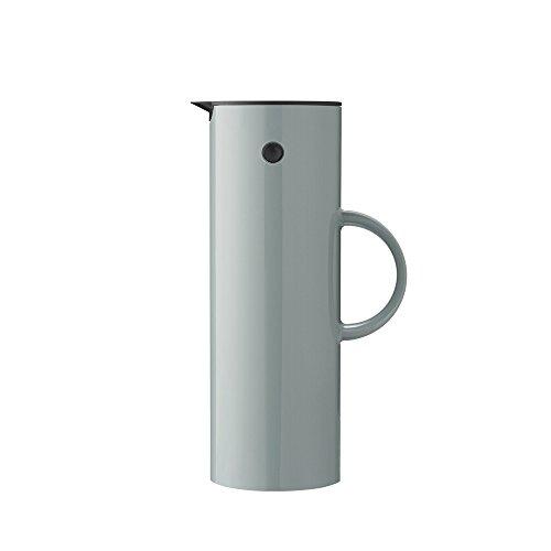 Stelton EM 77 Isolierkanne, Kaffeekanne aus Kunststoff, Dusty Green, 1 Liter
