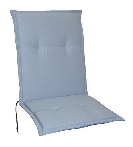 Housses de chaise de jardin noires textiles - 5 couleurs argenté
