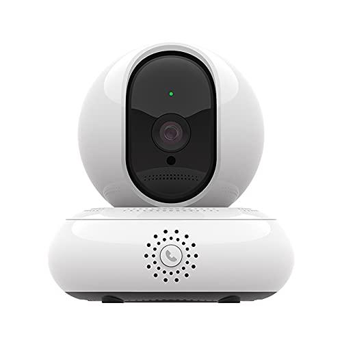 KKmoon Nachtsicht-Funkkamera 2 Millionen hochaufl?sende Netzwerk¨¹berwachung One-Touch-Anruf 360-Grad-Panorama-3D-Navigationskamera