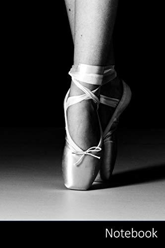 Notebook: Ballett Ballerina Notizbuch / persönliches Tagebuch / Schreibheft / Logbuch / Planer / Vokabelheft / Notizen - 6 x 9 Zoll (15,24 x 22,86 cm, ... Seiten mit Datumslinie, glänzendes Cover.