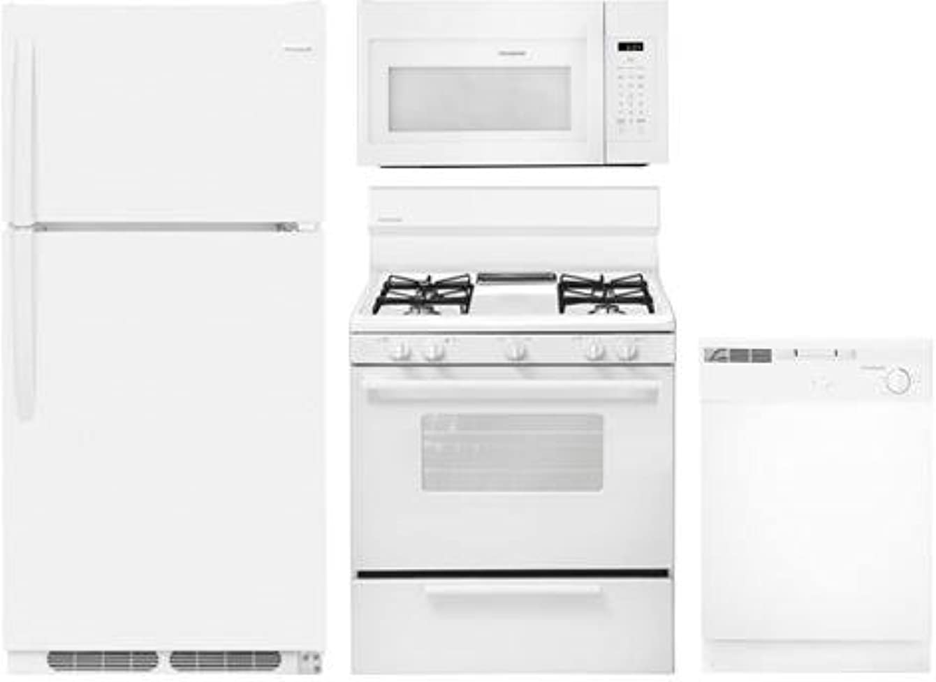 Frigidaire 4-Piece White Builder Package with FFTR1514TW 28