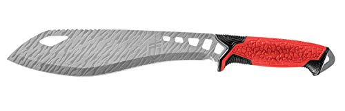 Gerber Machete mit Nylon-Scheide, Klingenlänge: 22,9 cm, Versafix Pro, Edelstahl, Rot, 30-001605