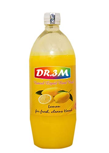 DR3M Natural Liquid Hand WASH Lemon 1 LTR