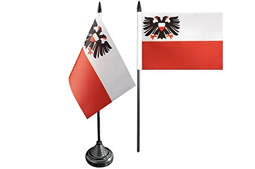Flaggenfritze/® Flagge Deutschland Stadt L/übeck 30 x 45 cm