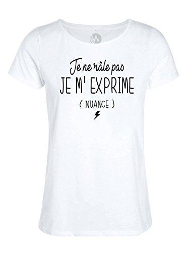 KSS KSS KSS Femmes Top T-Shirt Message Humour Je...