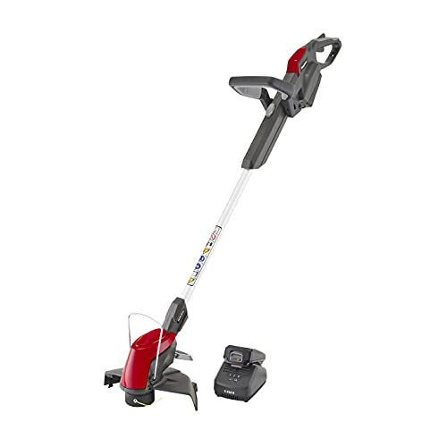 Mountfield MTR 20 Litre Cordless Grass Trimmer, For Trimming Corners and Borders, 25 cm Cutting Width, Single Line-Auto Feed Head, 20 V (2Ah) Battery, 150 Width, Battery and Charger Included