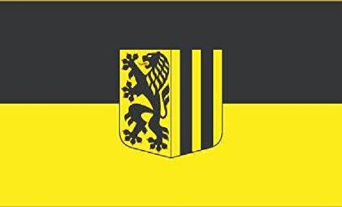 U24 Fahne Flagge Dresden Stadt 90 x 150 cm