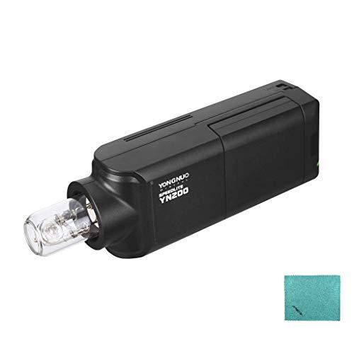 YONGNUO YN200 draagbare TTL flitser speedlite kit voor buiten met 2900 mAh lithium batterij en oplader voor Nikon Sony Canon EOS DSLR-camera's