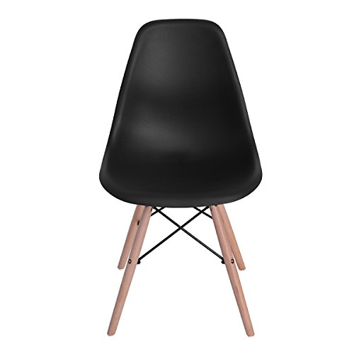 Home Make Set de 4 Sillas Eames Color Negro