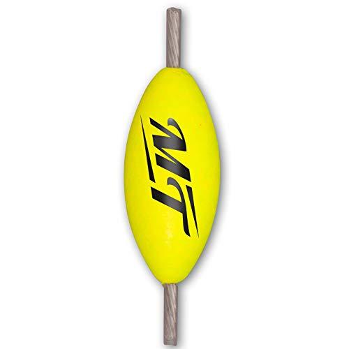 Quantum Magic Trout Pilot - 5 Pilotposen zum Forellenangeln, Piloten zum Angeln auf Forellen am Forellenteich & See, Forellenpose, Farbe:Gelb, Länge:25mm