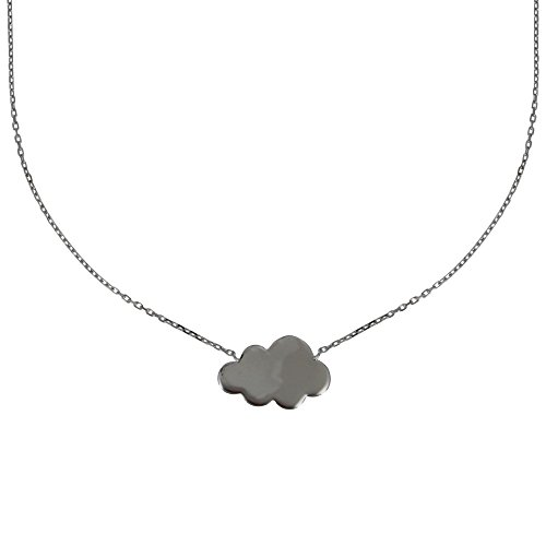 Gioello Les Poulettes - Collana Argento Rodiato Nuvola