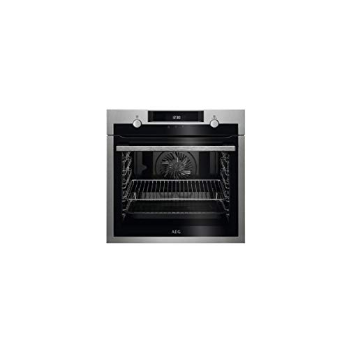 Aeg S0425878 Horno Pirolítico Bpe53512Ym, 71 L, 3500 W, A +, Negro, Acero Inoxidable, Stainless Steel