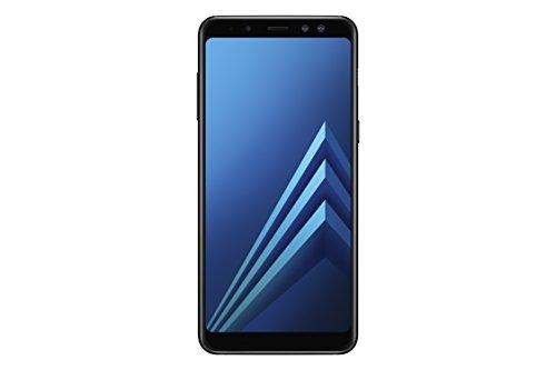 """Samsung Galaxy A8 - Smartphone de 5.6"""" (4G, Wifi, Bluetooth 5.0, Exynos 7885 Octa Core, 32 GB memoria interna, 4 GB de RAM, cámara de 16 MP, Android 7.0, versión española: incluye Samsung Pay) negro"""