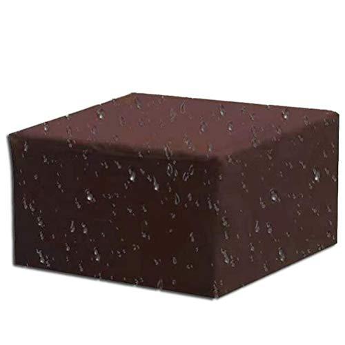 GFPR Meubles Table Couverture, Couverture Anti-poussière, Tissu Oxford Housse de Protection pour Rectangulaire Meuble de Jardin Cube