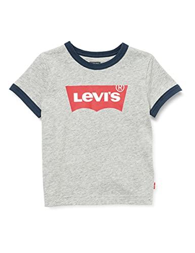 Levi s Kids LVB BATWING RINGER TEE A073 T-shirt Bambino Grey Heather 14 anni