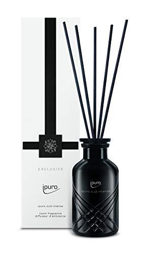 ipuro Exclusive oud intense Raumduft - Raumduft für eine vielfältig orientalische Atmosphäre - Lufterfrischer mit hochwertigen Inhaltsstoffen (240 ml)