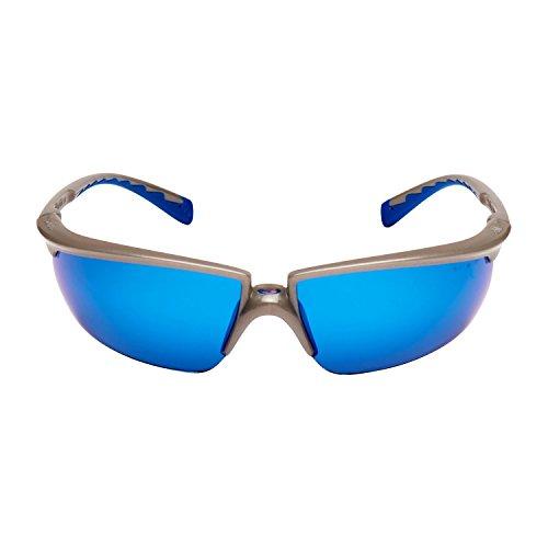 3M Solu11Si Schutzbrille, Blau Verspiegelt