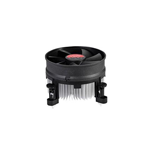 Spire Voyager Procesador Enfriador - Ventilador de PC (Procesador, Enfriador, LGA 775 (Socket T), Intel® Core™ i3, Intel Core i5, 9,5 cm, 2500 RPM)