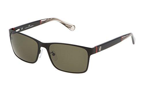 Carolina Herrera SHE072570531 Gafas de sol, Negro, 57 para Mujer