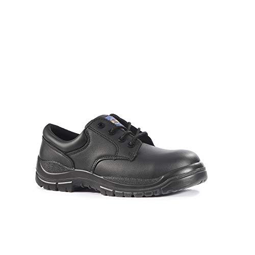 Pro Man PM4004S3nero in acciaio INOX con punta lavoro scarpe sicurezza calzature, nero, PM4004 12, 0 voltsV