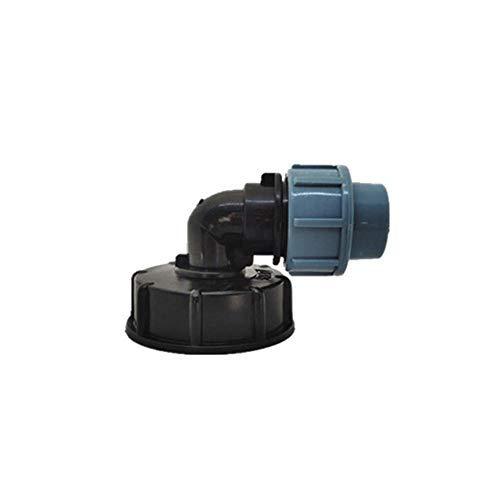 SGerste S60x6 IBC Tonneau de réservoir d'eau Connecteur 20/25 mm Coude de sortie Adaptateur Barils de raccord