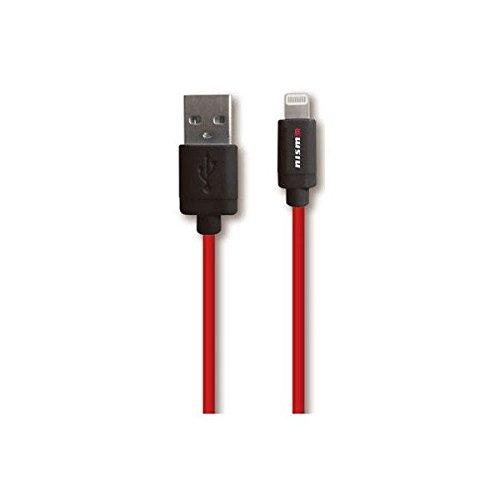 エアージェイ nismo(ニスモ) 公式ライセンス品 MFI認証USBライトニングケーブル 1m ブラック NMUJ-LP1 BK