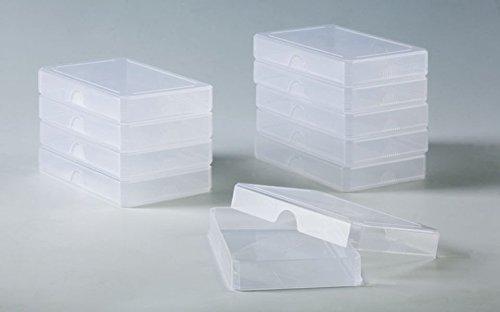 Grundschule Plus - Lehrmittel - Ordnungshilfen / 1.-4. Schuljahr - Kunststoffboxen (klein): 10 Stück (Größe 6,5 x 9,8 x 1,5 cm)