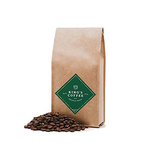ORGANIC ROAST - feinster Bio Arabica-Robusta Kaffeebohnen-Blend | kleine Chargen-Röstung aus Italien | ganze Espressobohnen für Vollautomaten & Siebträger