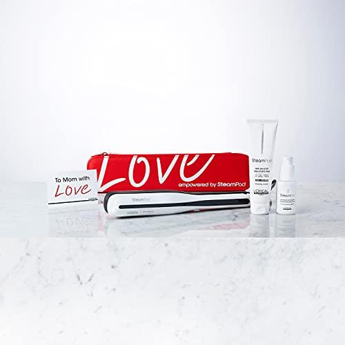 L'Oréal Professionnel Pack especial Steampod edición limitada día de la madre. Incluye plancha profesional Steampod 3.0 + Neceser termo-resistente edición limitada + crema y sérum vapo-activados