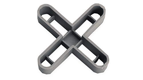 Rubi 2905 crucetas para juntas, Gris, 10 mm, Set de 50 Pieza
