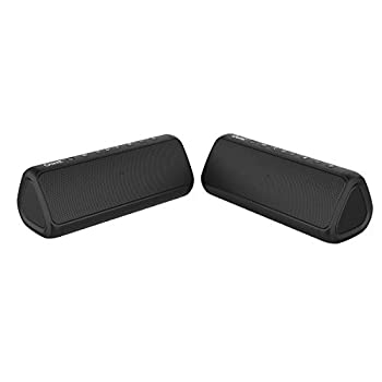 OontZ Angle 3 PRO Dual Bluetooth Speaker 21-Watts Louder Volume Exceptional Sound & Bass 100ft Wireless Range Waterproof by Cambridge SoundWorks