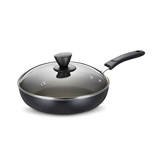 ZLDGYG Poêle antiadhésive Poêle gâteau Pot Réchaud Egg Steak Gas Petit Wok