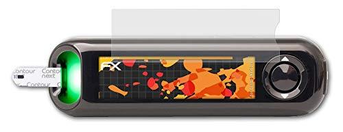 atFolix Panzerfolie kompatibel mit Contour Next One Schutzfolie, entspiegelnde & stoßdämpfende FX Folie (2X)