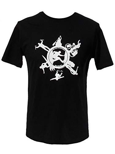 DerZugvogel Weltenbummler-T-Shirt - Camiseta para Hombre (Fairtrade, CO2 Neutral) s L