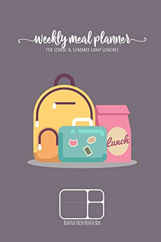 Weekly meal planner for school and summer camp lunches | BENTGO FRESH BENTO BOX: DOWNLOADABLE BONUS Lunch Notes PDF + Grocery list interactive PDF - ... planner for BENTO BOX COLLECTION, Band 6)