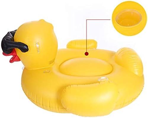 UICICI Aufblasbare PVC Pool schwimmt Sitz Ente Form für Erwachsene Kinder Kinder mädchen Jungen Float Spielzeug (Größe   220C)