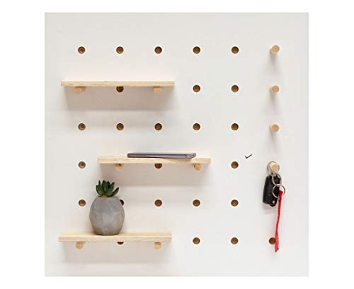 6mm Thick Wooden Pegboard 120cm x 60cm 25mm Hole centres 6mm Hole