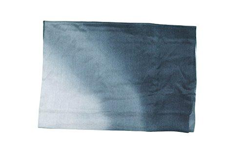 naturwaren-online Seiden-Tuch Seiden-Schal 180x90cm batic-look Farbverlauf steingrau-antrazith Pareo