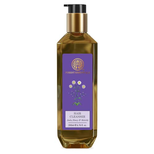 Forest Essentials Hair Cleanser, Amla, Honey and Mulethi, 200ml
