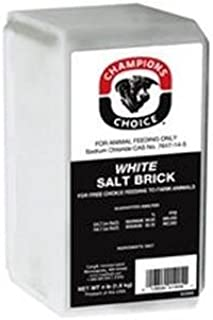 Champions Choice Salt Brick 4 Lb. White
