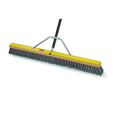 Rubbermaid Commercial Broom Head, Fine, 36