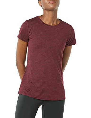 Amazon Essentials Women's 2-Pack Tech Stretch Short-Sleeve Crewneck T-Shirt,...