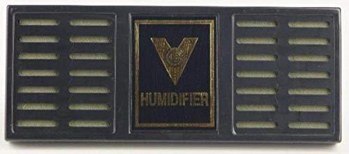 Angelo Humidore und Holz-Kisten: Humidor-Befeuchter für Zigarren, Tabak und Kräuter | 18 x 170 x 65 mm | Kunststoff, schwarz | XL für große Humidore | von bong-discount