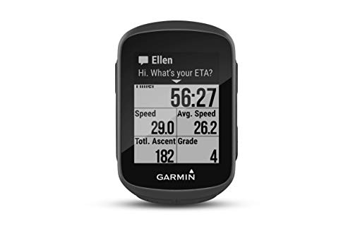 Garmin Edge 130 avec Ceinture Cardio - Compteur GPS de Vélo - Noir