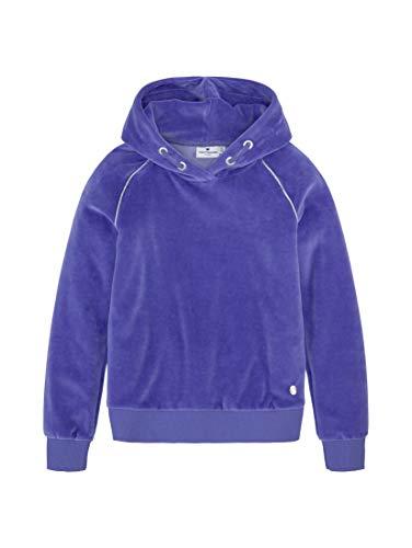 TOM TAILOR Mädchen Sweatshirt T-Shirt, iris Bloom|Blue, 128/134
